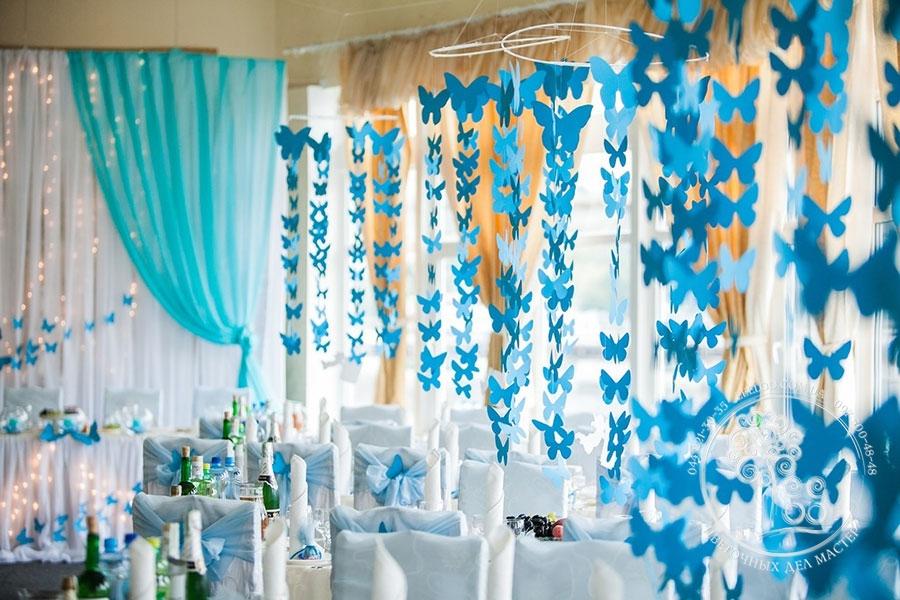 Украшение на свадебного зала своими руками
