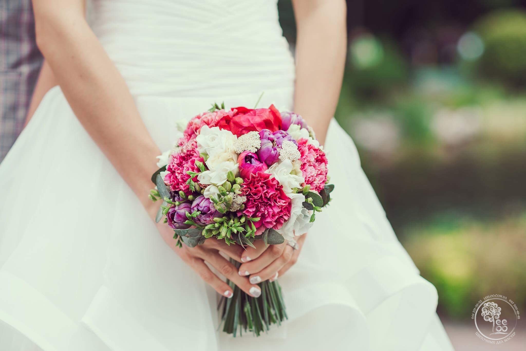 Красивые свадебные букеты заказ спб